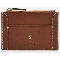 Tan Carter Leather Card Holder  Size One Size