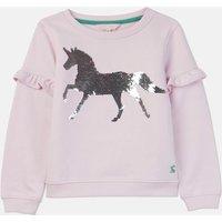Pink Horse Tiana Sweatshirt 3-12 Years  Size 7Yr-8Yr