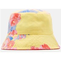 YELLOW FLORAL Sunseeker Reversible Hat  Size 8yr-12yr