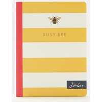 Gold Bee Stripe B6 Notebook Gold Bee Stripe  Size One Size