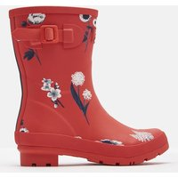 RED BOTANICAL Molly Mid Height Printed Wellies  Size Adult Size 6