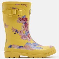 YELLOW FLORAL Printed Wellies  Size Childrens Size 13