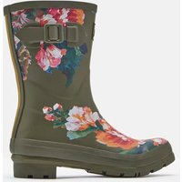 Green Lakeside Rose Molly Mid Height Printed Wellies  Size Adult 5