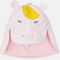 Pink Stripe Horse Sun Fun Character Hat  Size 6M-12M