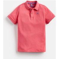 Dark Dahlia Pink Woody Polo Shirt 1-12Yr  Size 6Yr
