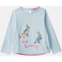 Blue Hopping Peter Ava Applique T-Shirt  1-6 Years  Size 5Yr