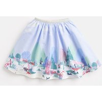 Potting Shed Border Carousel Woven Printed Skirt 1-6 Yr  Size 4Yr