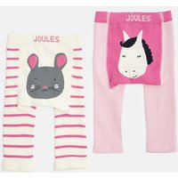 HORSE 203978 Two Pack Leggings  Size 6m-12m