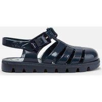 French Navy Juju Jelly Shoe Sandals  Size Baby 5