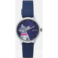 Bowtie French Bulldog Everly Ladies Silicone Strap Watch  Size One Size