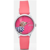 Breton Daschund Everly Ladies Silicone Strap Watch  Size One Size