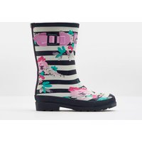 Margate Floral Stripe 206032 Printed Wellies  Size Childrens 8