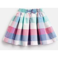 Pink Multi Colour Check Ariel Woven Printed Skirt 1-6 Yr  Size 6Yr