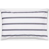 Galley Grade Floral Stripe Standard Pillowcase