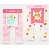 PINK FROG FAIRY Lively Two Pack Character Leggings  Size 12m-24m