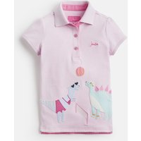 PINK DINO SPORT Moxie Applique Polo Shirt 1-12yr  Size 4yr