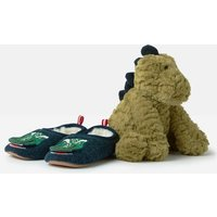 Slipper And Soft Toy Gift Set