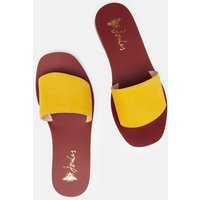 Dayton Leather Slide Sandal