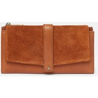 Aycliffe Suede Large Foldover Purse