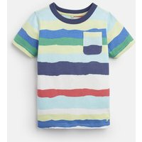Multi Colour Paper Stripe Caspian Stripe T-Shirt 1-6 Yr  Size 2Yr