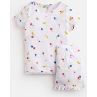 WHITE FRUIT Ayla Short Pyjama Set 1-12 Yr  Size 4yr