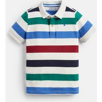 Cream Multi Stripe Filbert Stripe Polo 1-12 Years  Size 11Yr-12Yr
