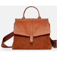 Molton Suede Large Cross Body Bag