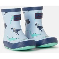 Blue Dino 207341 Printed Wellies  Size Baby 4