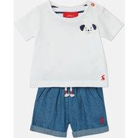 Blue Dog Ross T-Shirt And Novelty Shorts Set  Size 9M-12M