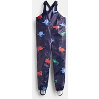 Navy Dinos Splashwell Waterproof Printed Rubber Dungarees 1-6 Years  Size S