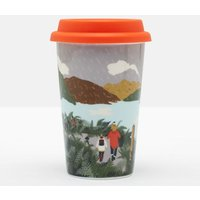 White Rain Location Travel Mug With Silicone Lid  Size One Size