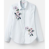 204518 Long Line Embroidered Shirt