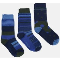 209761 Cotton 3 Pack Socks