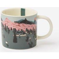 White Dawn Location Kitchen Cuppa Printed Mug  Size One Size