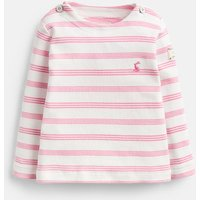 Cream Pink Stripe Harbour Stripe Top  Size 0M-3M