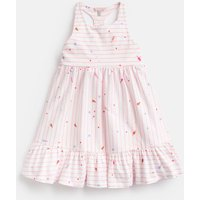 CREAM LOLLY STRIPE 204610 Peplum Frill Dress  Size 6yr