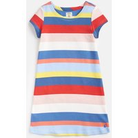Yellow Multi Stripe Riviera Short Sleeve Dress 3-12 Yr  Size 6Yr