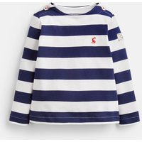 Navy Cream Stripe Harbour Stripe Top  Size 12M-18M