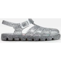 Silver Juju Jelly Shoe Sandals  Size Baby 4