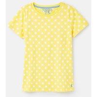 209197 Polka Dot Slub T-Shirt 1-12 Years