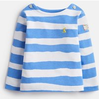 Blue Paper Stripe Harbour Jersey Striped Top  Size 12M-18M