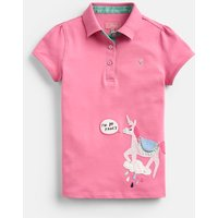 Pink Unicorn Moxie Polo Shirt 1-12 Years  Size 11Yr-12Yr
