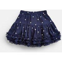 Navy Silver Spot Lillian Tutu Skirt 1-6 Yrs  Size 2Yr