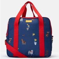 Blue Dogs Picnic Cool Bag Printed And Fully Insulated  Size One Size