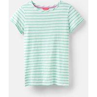 Mint Green Stripe 204530 Lightweight Jersey T-Shirt  Size 14