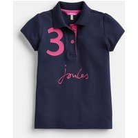 FRENCH NAVY 204606 Branded Polo  Size 3yr