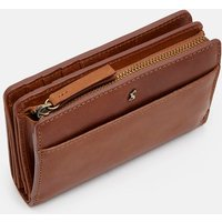 Tan Wyton Leather Purse  Size One Size