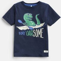 DINOSAUR 204639 Screenprint Tee  Size 6yr