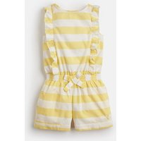 YELLOW WHITE STRIPE Elle Woven Playsuit 1-6Yr  Size 6yr