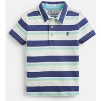 CREAM NAVY STRIPE Morley Stripe Polo 1-6Yr  Size 5yr